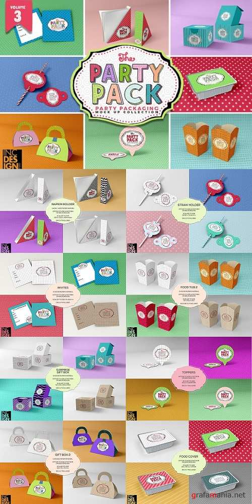 Vol.3 Party Packaging MockUps 1542024