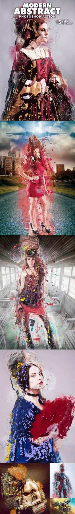 Graphicriver  – modern abstract photoshop action