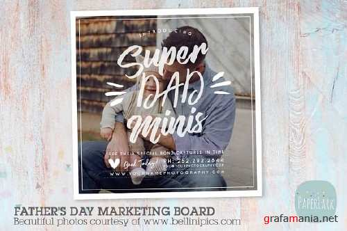 F023 Fathers Day Marketing Board 1542225