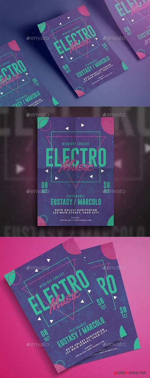 Electro Music Flyer 20017798