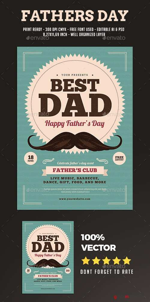 Father's Day Flyer 20053408