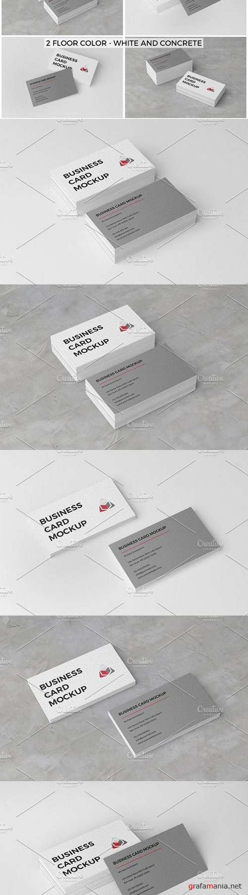 Business Card Mockup 883303