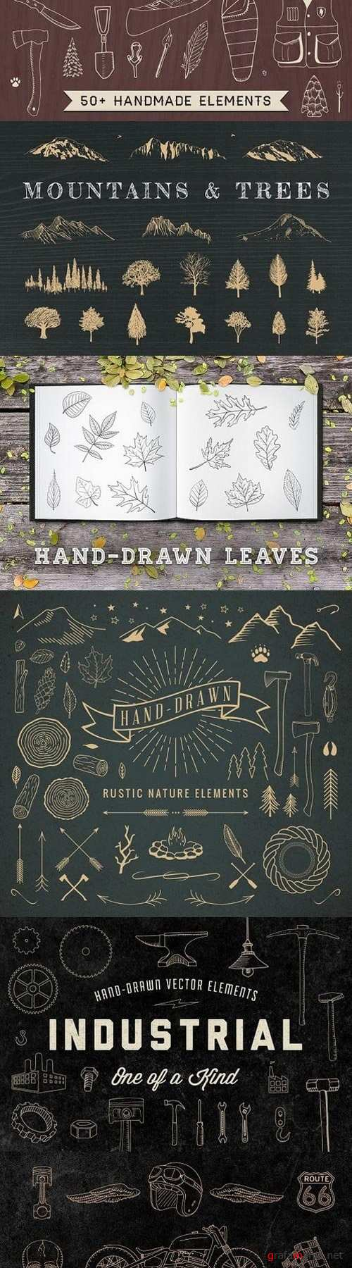 The Hand-Drawn Bundle 780851