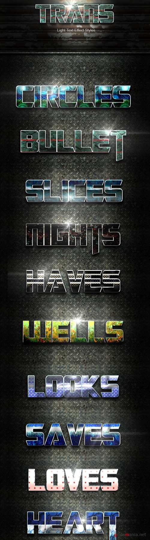 Trans Text Effect V31 19849910