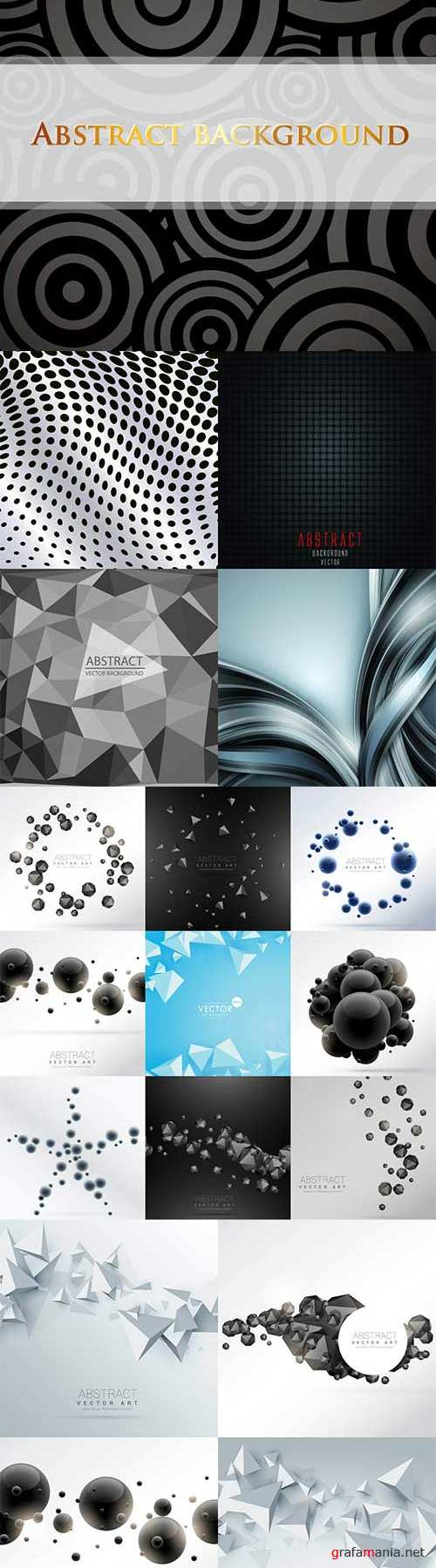 Bright colorful abstract backgrounds vector - 82
