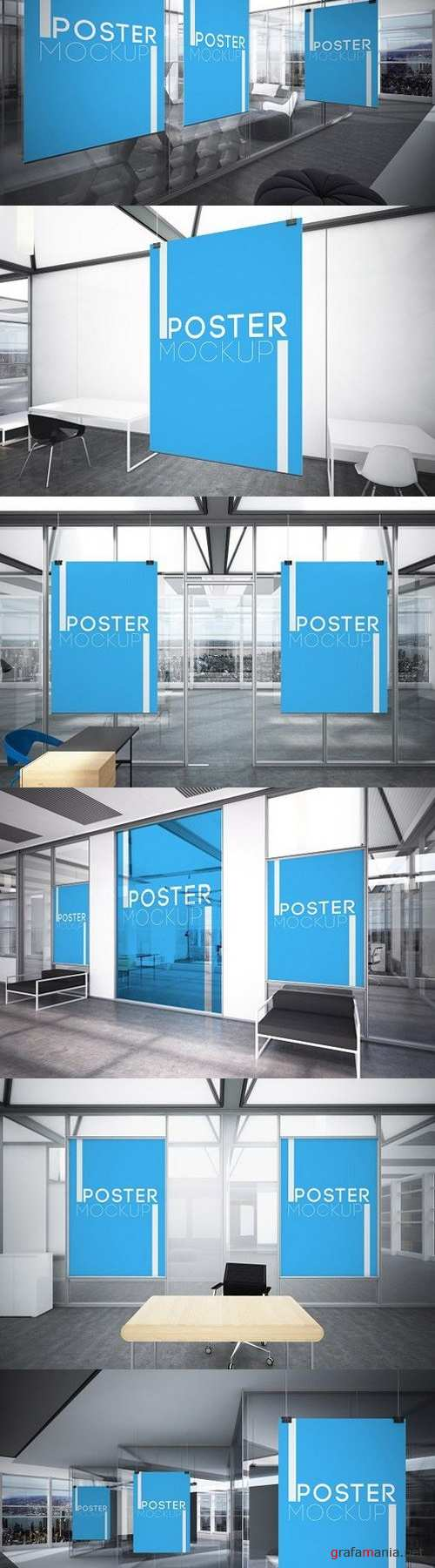 Office Posters Mockups 1437518