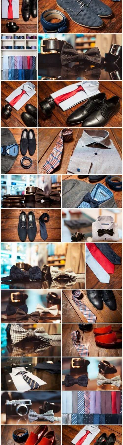 Men's Clothing and Accessories 2 - 26xUHQ JPEG Photo Stock