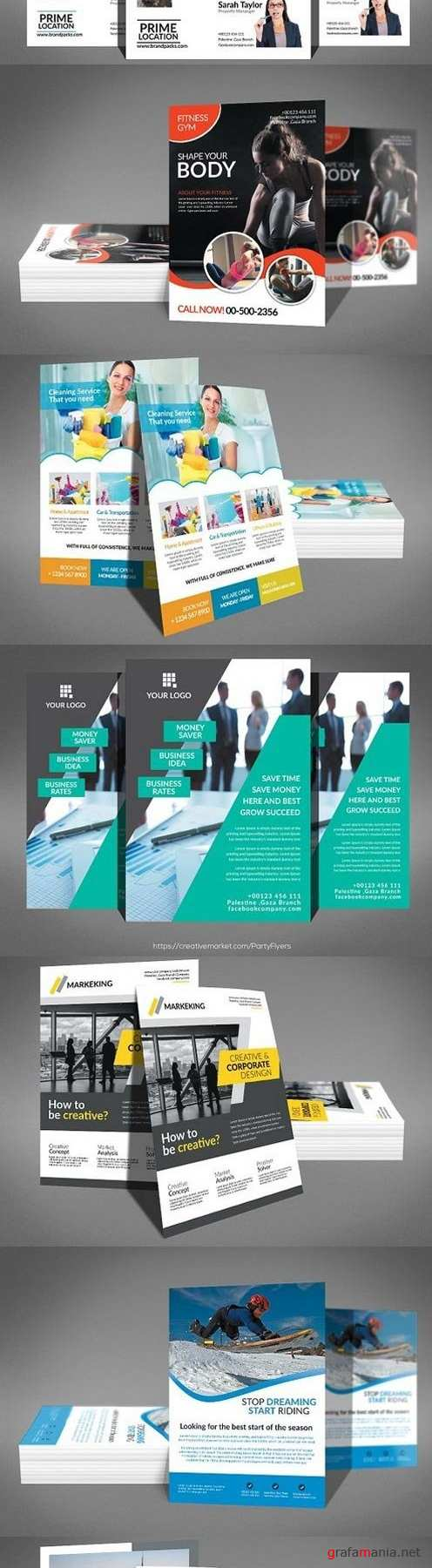 16 Business Flyers Bundle 1372803