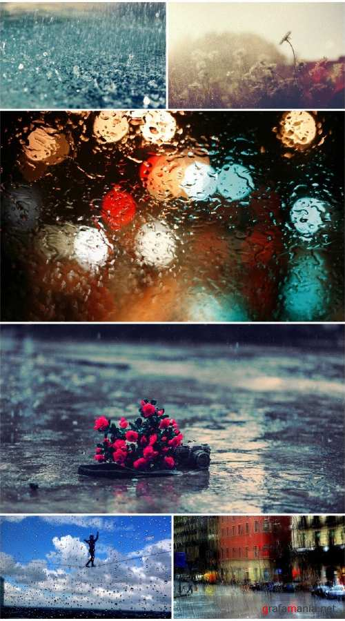 HD Rain wallpapers (Pack 3)