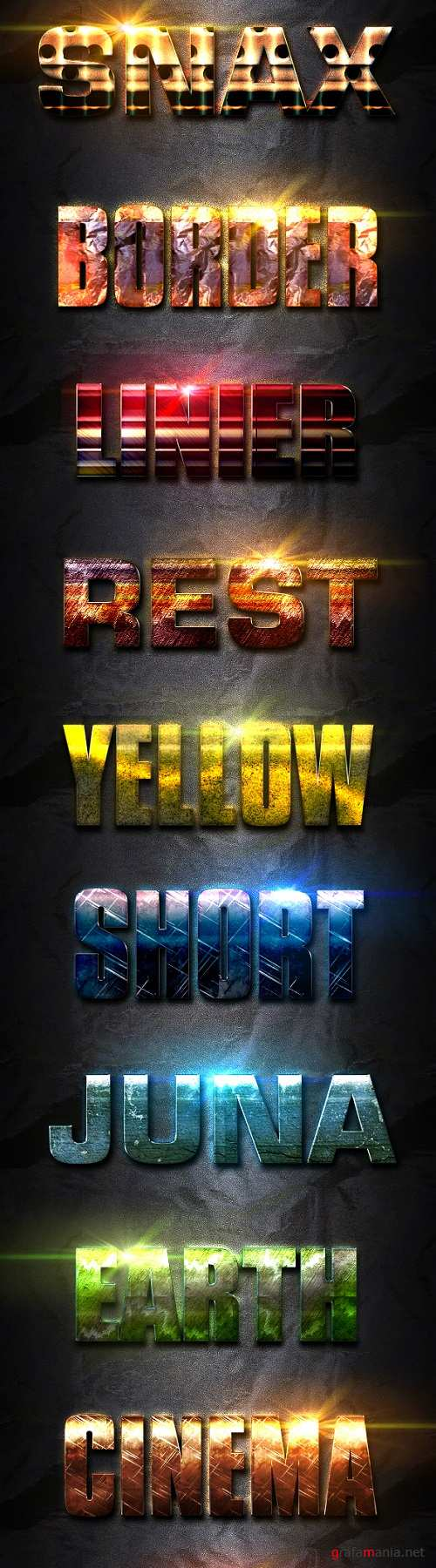 12 Light Photoshop Text Effect Vol 2 - 19828290