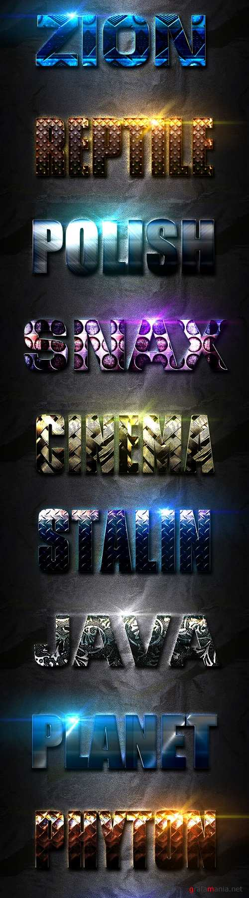 Light Photoshop Text Effect Vol 1 - 19873613