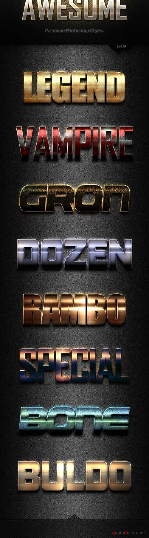 Awesome Photoshop Text Effects Vol.18 - 19135417