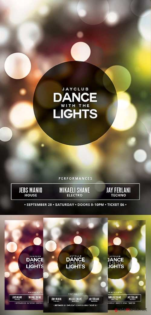 Dance with the Lights Flyer 1492468