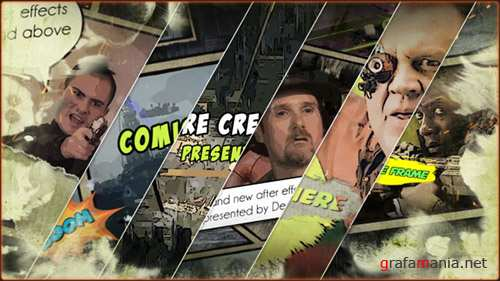 Action Comic 19839659 - Project for After Effects (Videohive)
