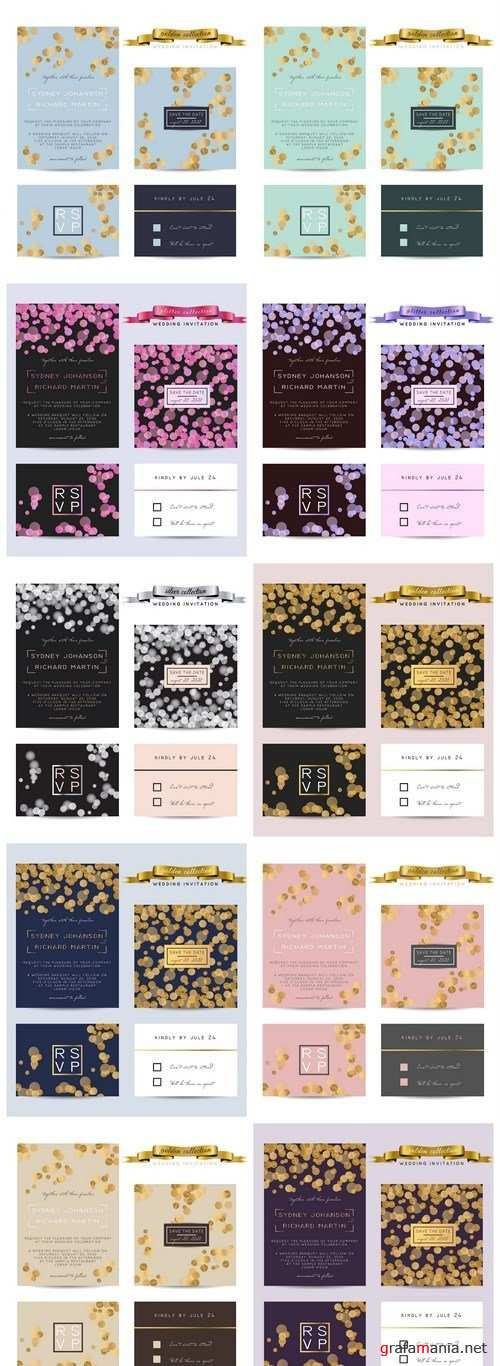 Elegand Wedding Card Set