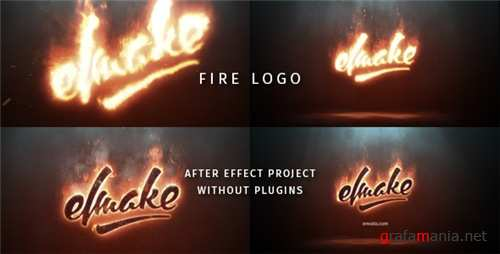 Fire Logo 19209644 - After Effects Project (Videohive)