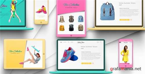 Online Shop Promo - After Effects Project (Videohive)