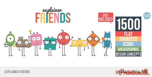 Explainer Friends - Project for After Effects (Videohive)