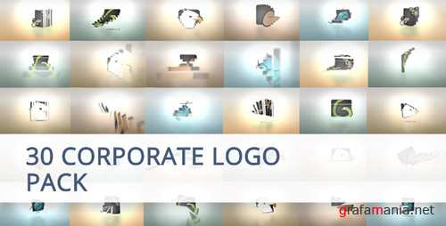 30 Corporate Logo Animation Pack - Project for After Effects (Videohive)