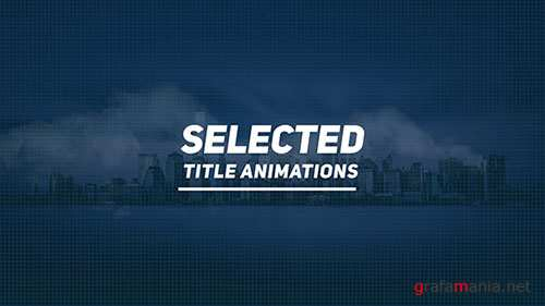 Selected Titles - Project for After Effects (Videohive)
