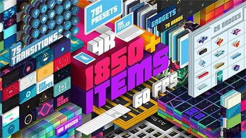 Big Pack of Elements V2 - Project for After Effects (Videohive)