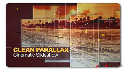Clean Parallax Cinematic Slideshow - Project for After Effects (Videohive)