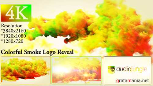 Colorful Smoke Logo Reveal 20000622 - Project for After Effects (Videohive)