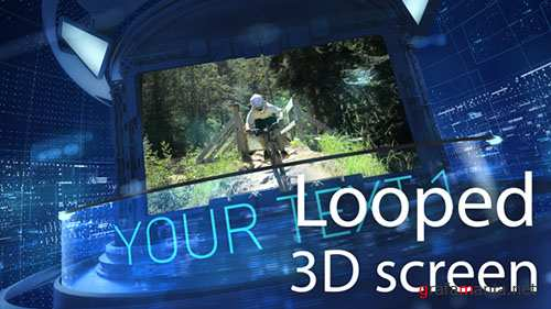 3D Carousel Looped - Project for After Effects (Videohive)