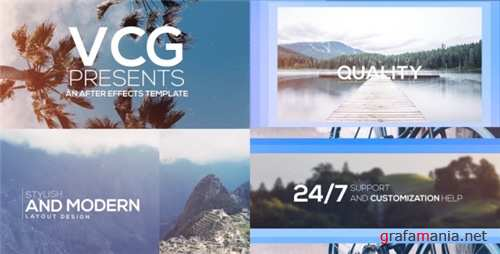 Sliding Titles Opener - After Effects Project (Videohive)
