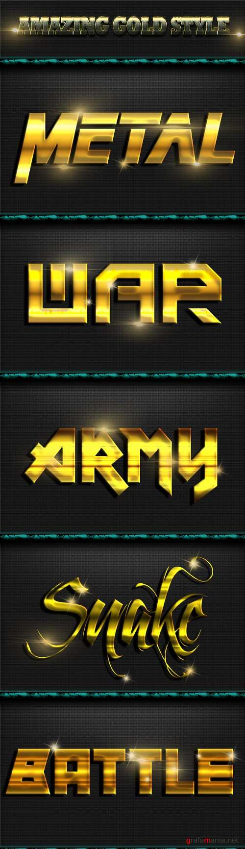Amazing Gold Style Text Effect 20162756