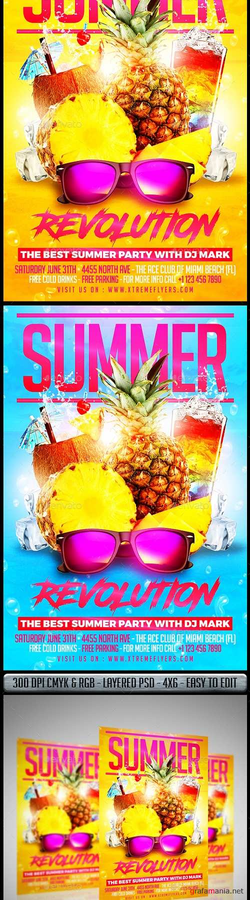 Summer Party Flyer 20055957