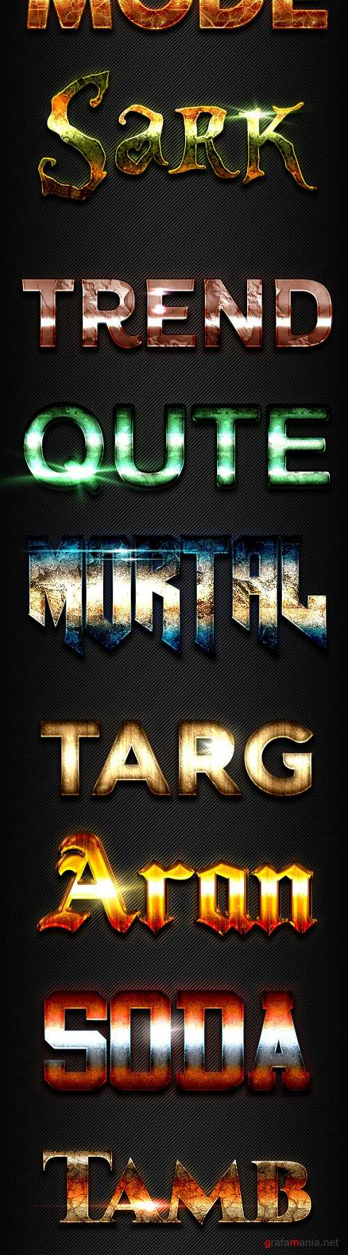 10 Text Effects Vol. 03 - 19816847