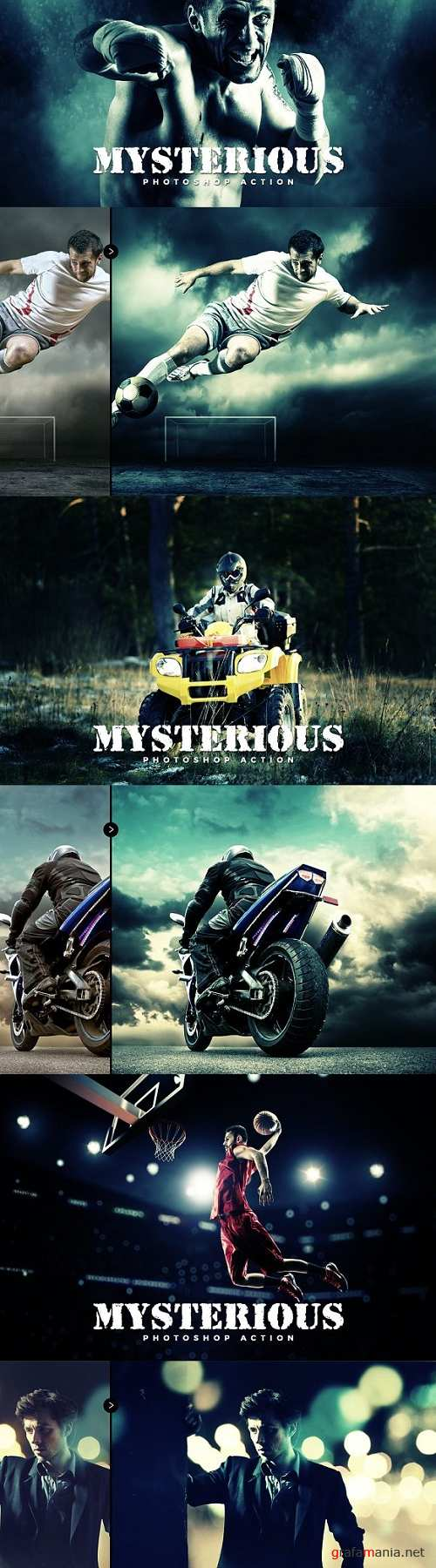 Mysterious Photoshop Action 1591579
