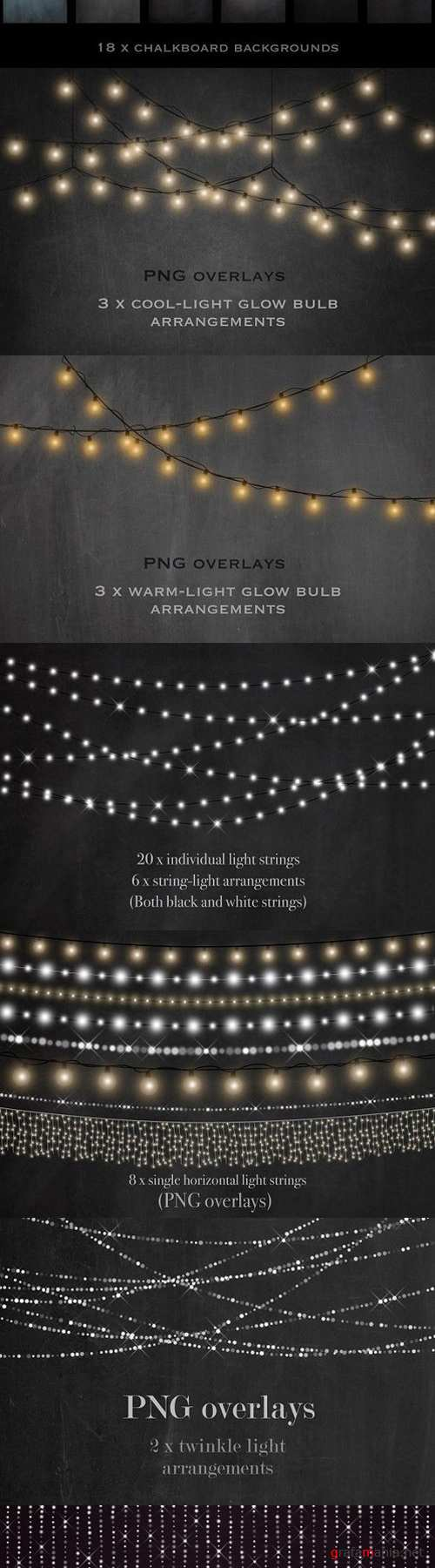 Chalkboards and fairy lights 1482204
