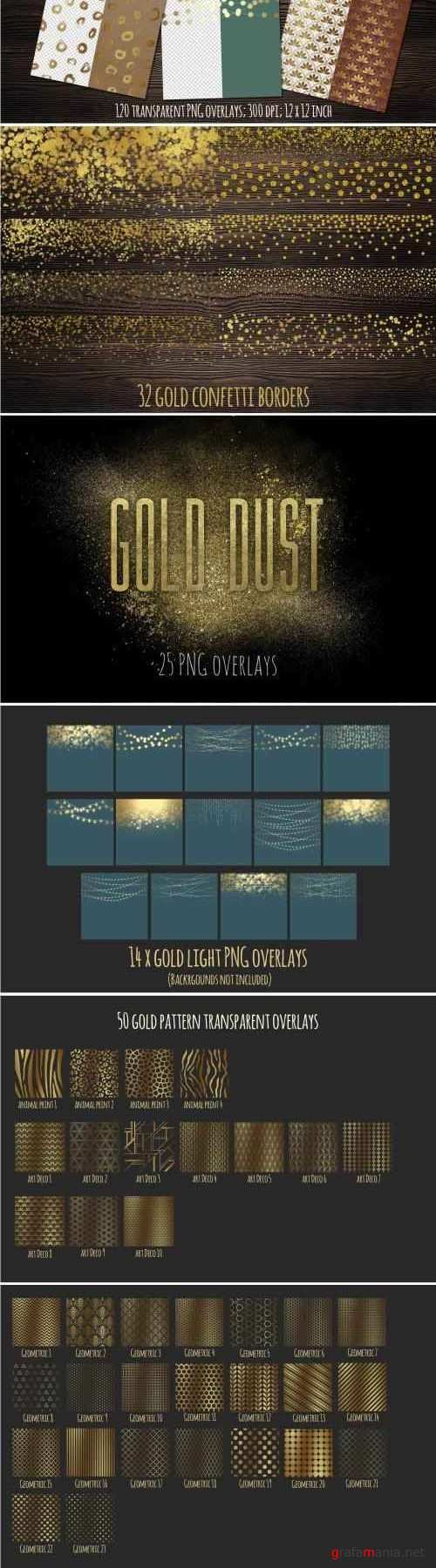 Gold Overlays - 1559676