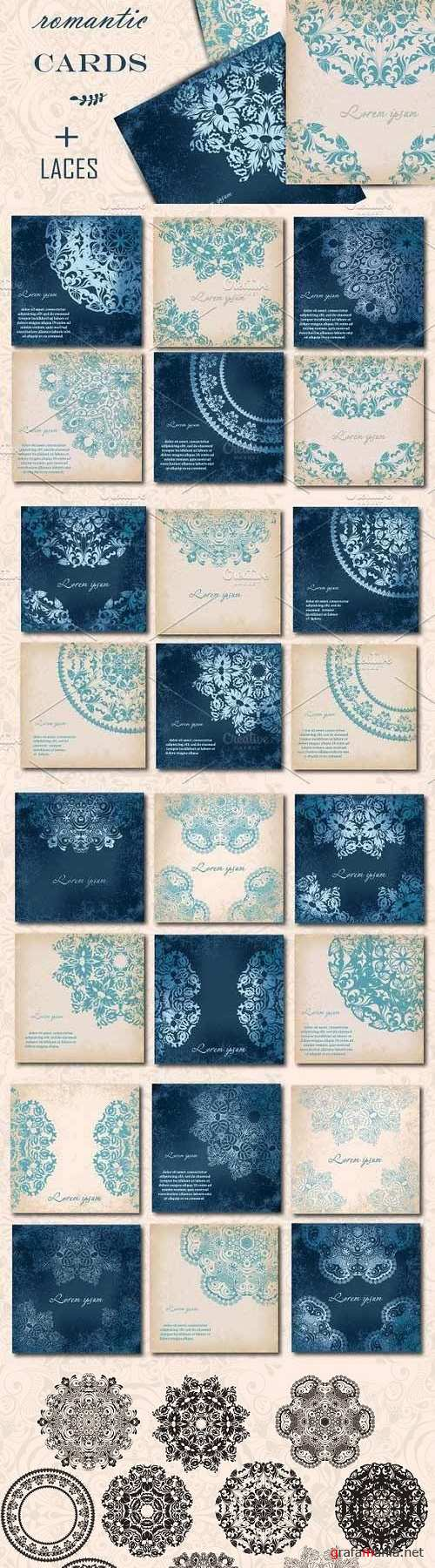 Rownd Lace Cards 553296