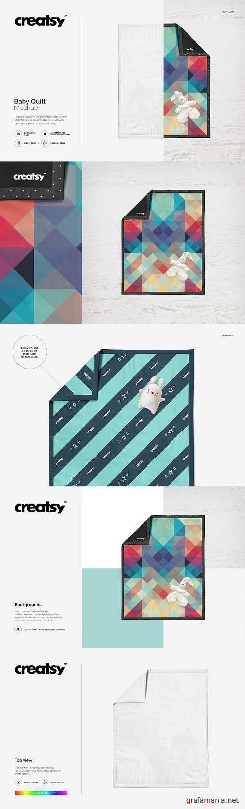 Baby Quilt Mockup 1633585