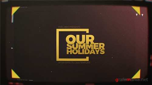 Summer Holidays 20014514 - After Effects Project (Videohive)