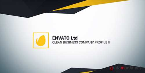 Clean Business Company Profile II - Project for After Effects (Videohive)