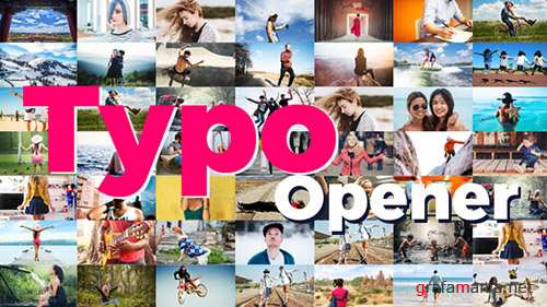 Dynamic Typo Opener 19567203 - Project for After Effects (Videohive)