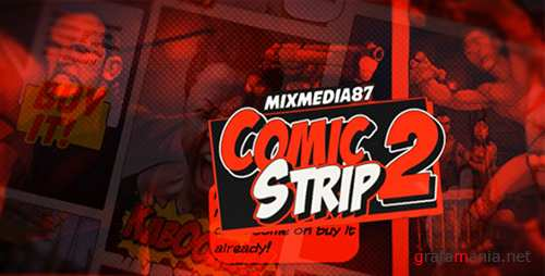 Comic Strip 2 - Project for After Effects (Videohive)