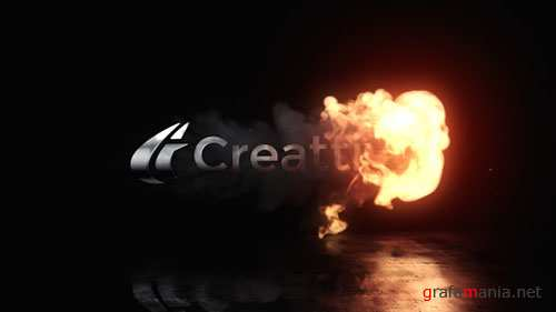 Fire Reveal Logo - Project for After Effects (Videohive)