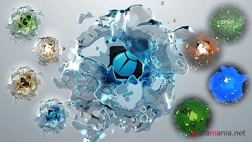 Liquids Quick Logo Pack 3 - Project for After Effects (Videohive)