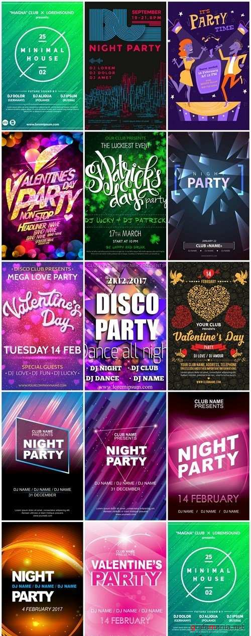 Different Party Flyer #2