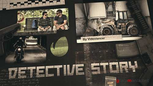 Detective Story - Project for After Effects (Videohive)