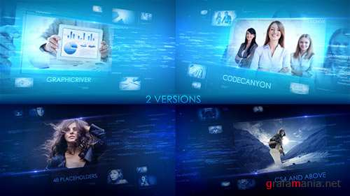 Digital Words - Project for After Effects (Videohive)