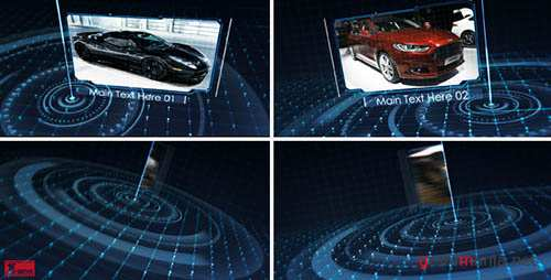 Tech Grid Show - Project for After Effects (Videohive)