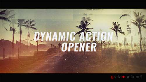 Dynamic Action Opener - Project for After Effects (Videohive)