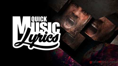 Quick Music Lyrics - Project for After Effects (Videohive)