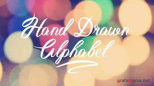 Hand Drawn Alphabet 19244875 - Project for After Effects (Videohive)